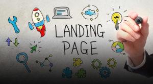 сайт landing page