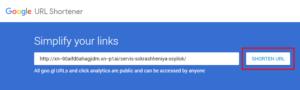 сервис сокращения ссылок гугл